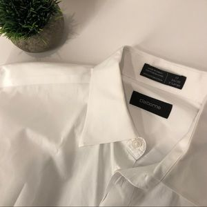 Claiborne white Dress Shirt